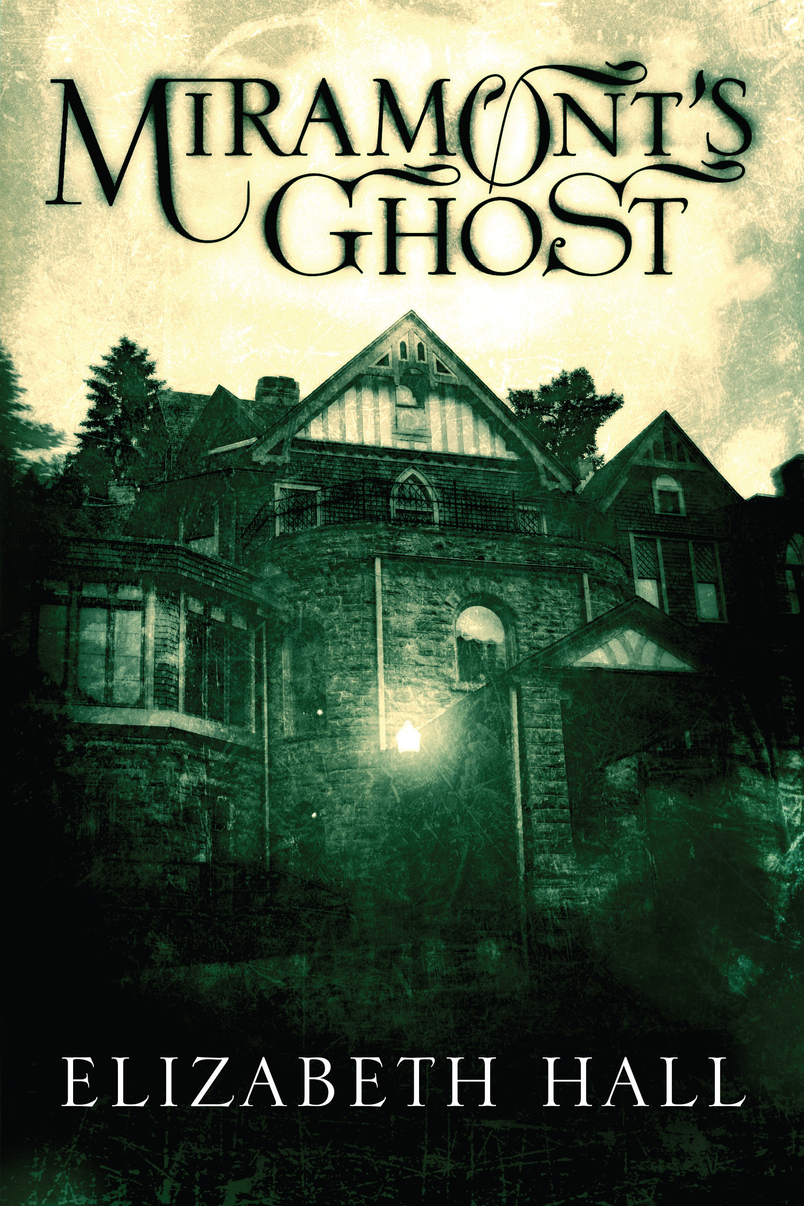 Elizabeth hall miramont s ghost was written with pen and paper